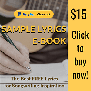 Free lyrics to help songwriters